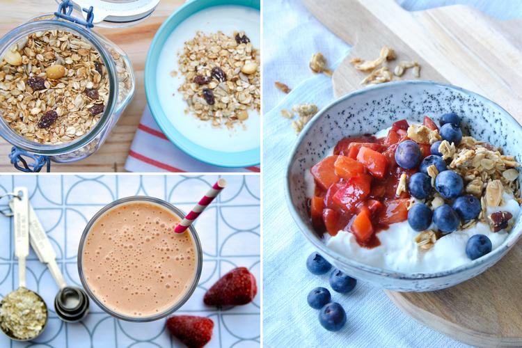 3x gezond ontbijten zonder brood