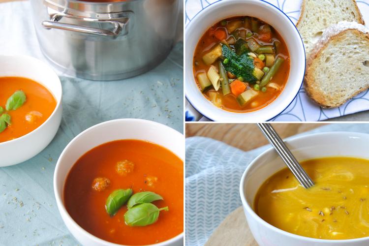 3x de lekkerste soep voor op een koude dag