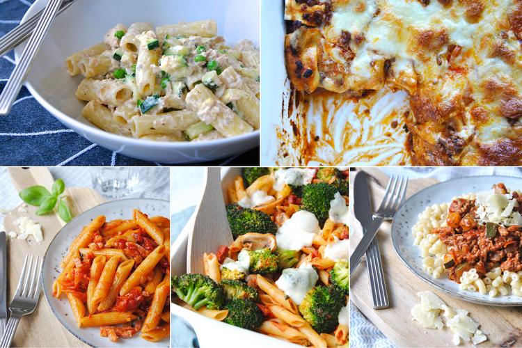 10x inspiratie voor pasta